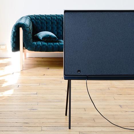 Serif TV Ronan et Erwan Bouroullec pour Samsung.