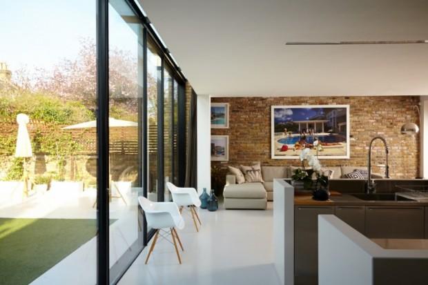maison victorienne interieur salon Chloe Macintosh Londres