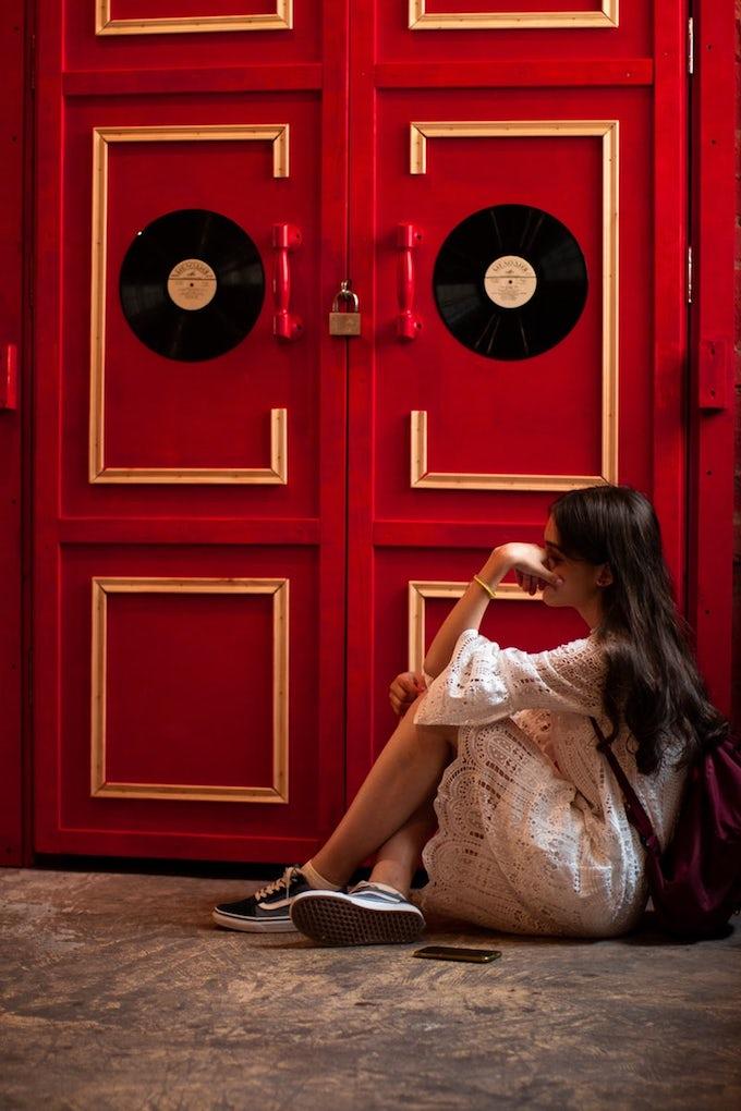 meuble vinyl déco blog décoration vintage recyclage clem around the corner