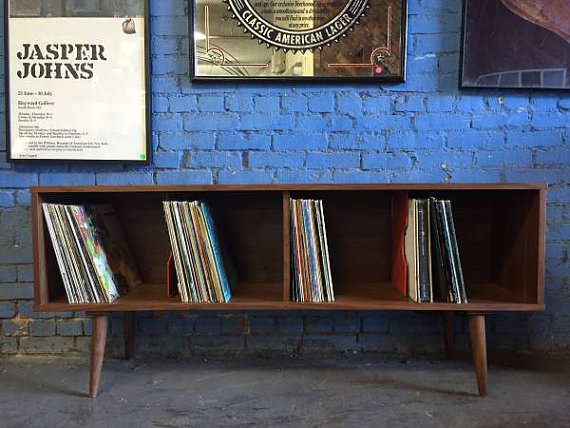 meuble vinyle platine ranger 33 tours 45.