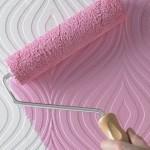 peinture mur rose pastel quartz