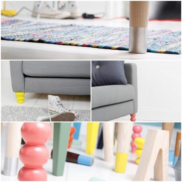 personnaliser pied meuble ikea prettypegs.