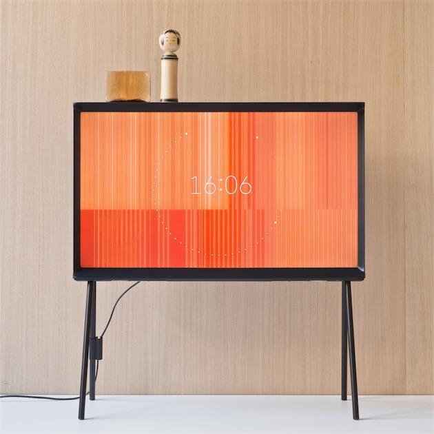 serif tv ronan erwan bouroullec x samsung clem around. Black Bedroom Furniture Sets. Home Design Ideas