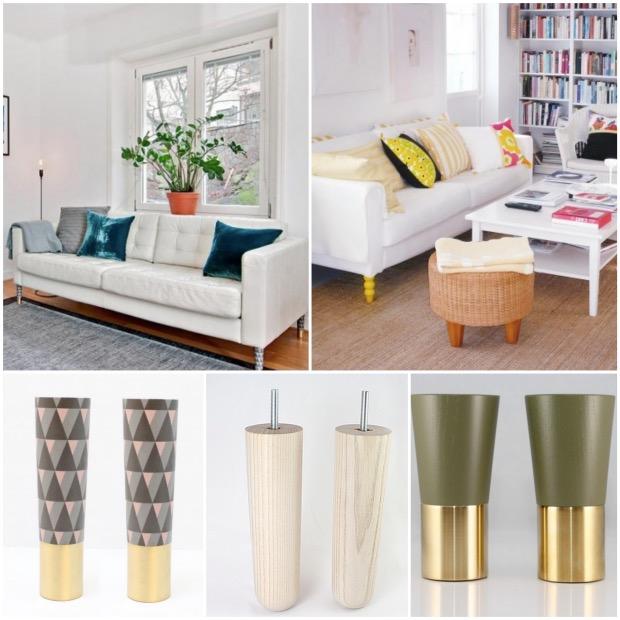 idée salon canapé IKEA