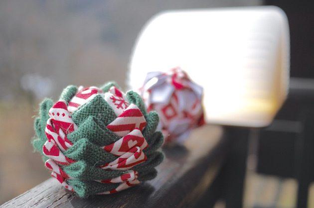 boule de noel décoration polystyrene