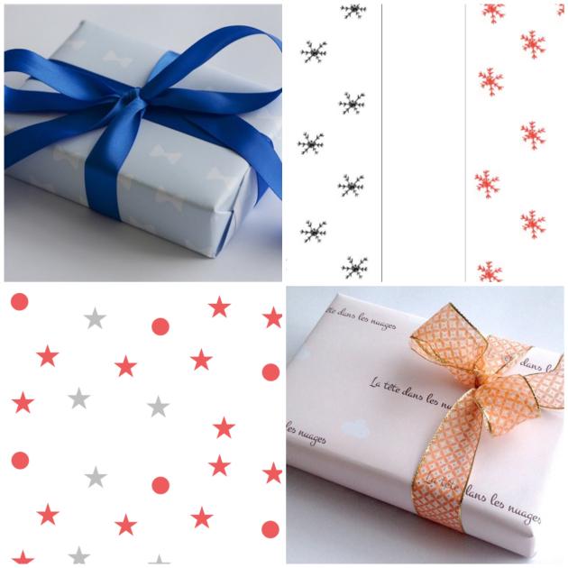 papier cadeau a imprimer gratuit