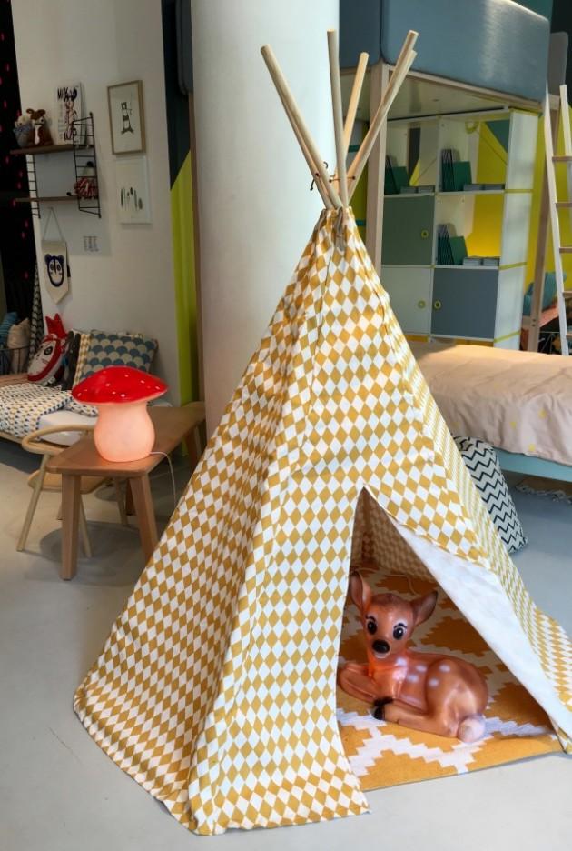 tipi pour enfant deco chambre clemaroundthecorner.com