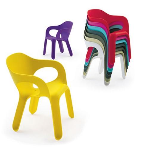 easy chair chaise magis plastique design exterieur