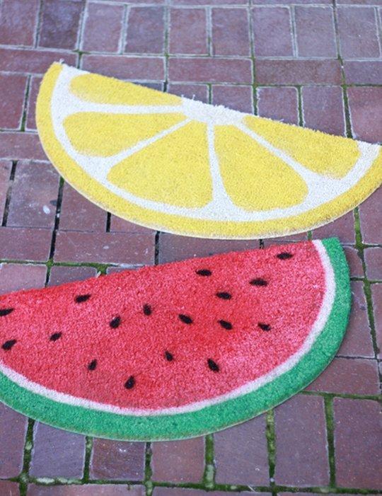 paillasson fruit diy