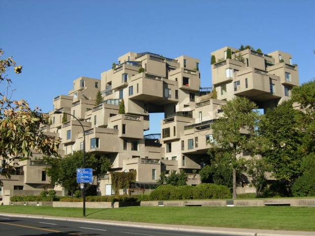 habitat 67 Moshe Safdie architecture montreal