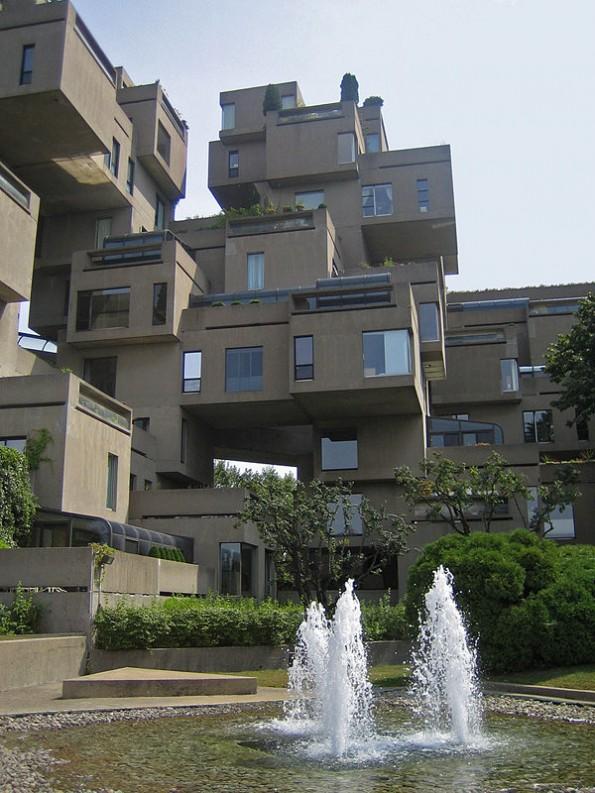 habitat 67 Moshe Safdie architecture h67