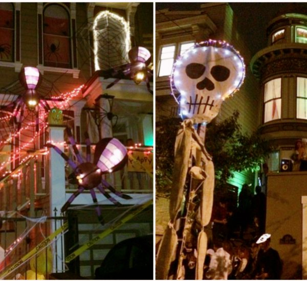 maison exterieur déco Halloween sf san francisco.