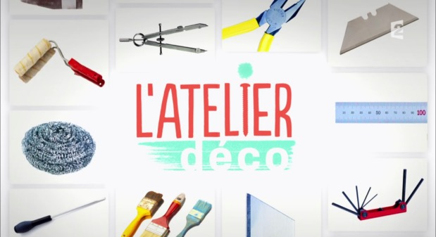 aur lie h mar dans l 39 atelier d co sur france 2 clem around the corner. Black Bedroom Furniture Sets. Home Design Ideas