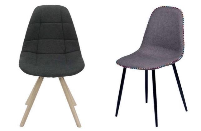 chaises design à moins de 100 Euros conforama.