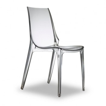 chaises design à moins de 100 Euros transparente