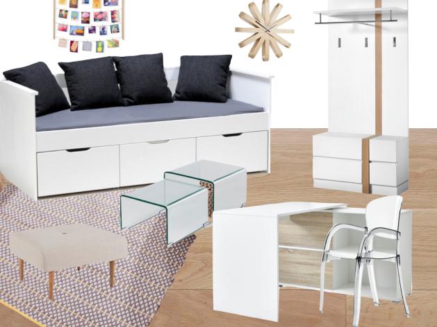 inspiration deco chambre ado blog d co clem around the corner. Black Bedroom Furniture Sets. Home Design Ideas