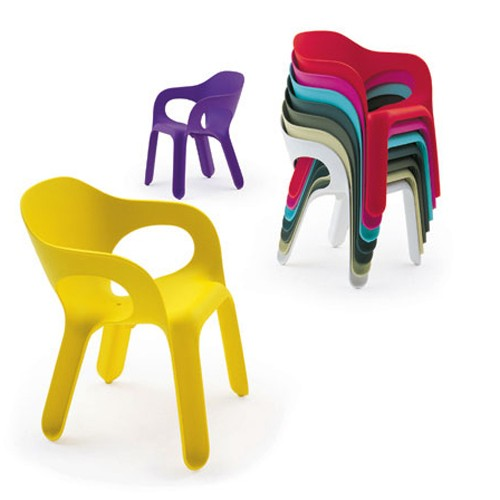 easy chair chaise magis plastique design exterieur