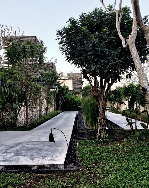 hotel design Alila Villas Uluwatu exterieur