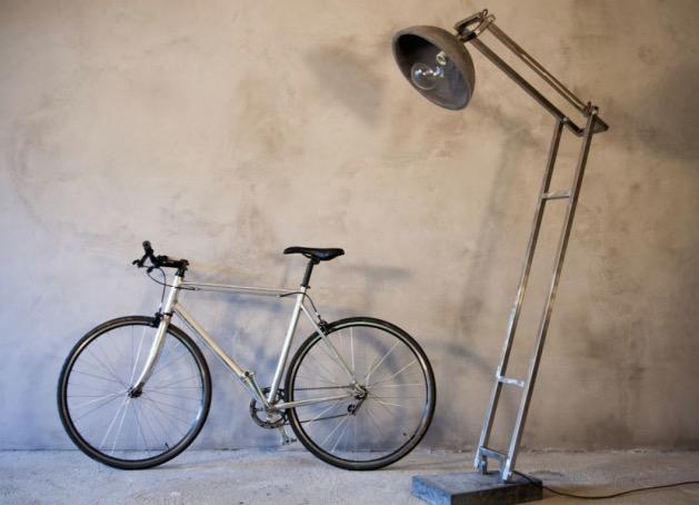 lampadaire en beton the french vikings etsy