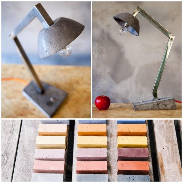 lampe de bureau en beton the french vikings