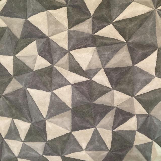 Tapis Origami Toulemonde Bochart x Saint Maclou