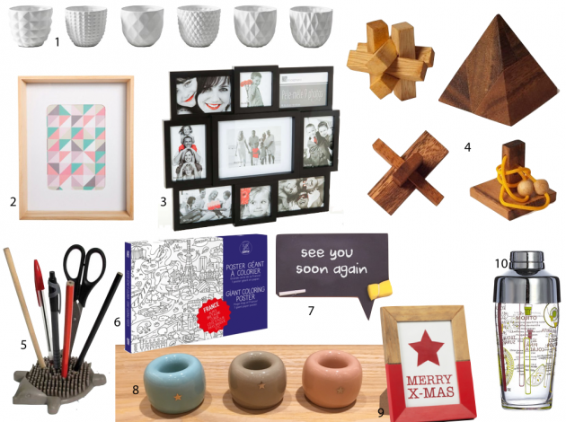 10 idées cadeau à moins de 10 euros secret santa