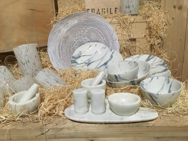 assiette imitation marbre pas chere monoprix maison déco