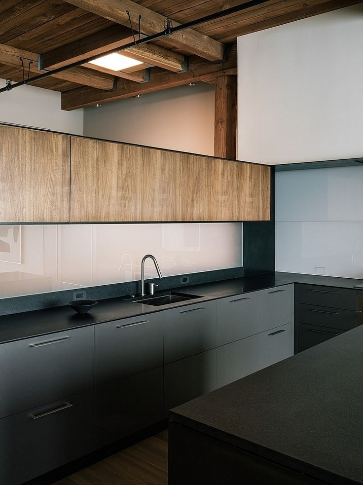 cuisine moderne elegante bois minimaliste