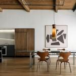 cuisine salle a manger loft minimaliste