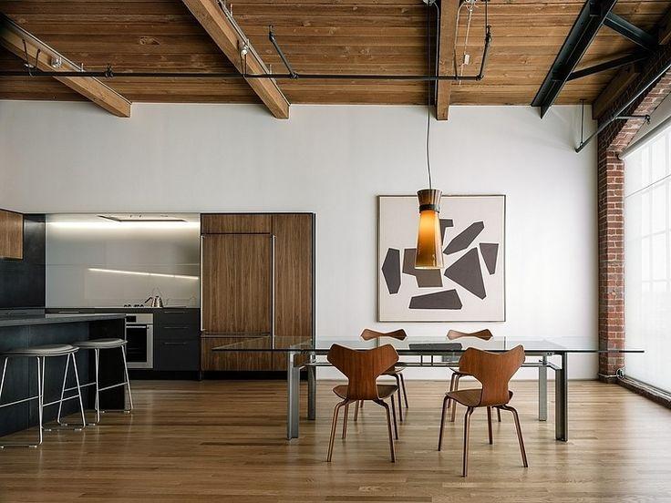 cuisine salle a manger minimaliste