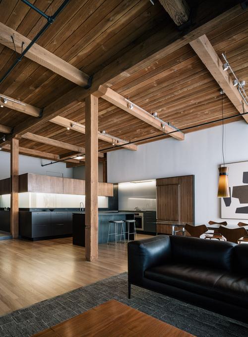 loft minimaliste en Californie