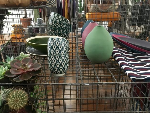 vase art de la table monoprix 2016 vert
