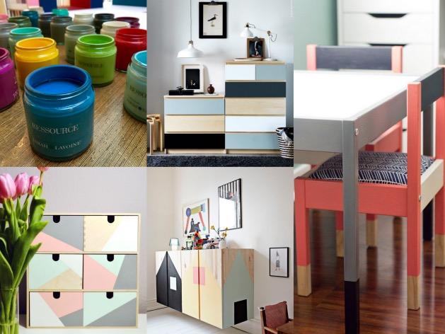 astuces déco pour locataire repeindre ses meubles ikea tutoriel - blog architecture intérieure - clem around the corner