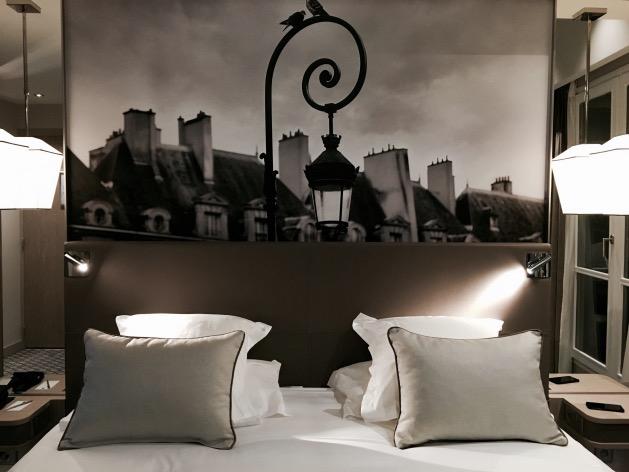 chambre priviliege top floor hotel la lanterne quartier latin paris 5 arrondissement 75005