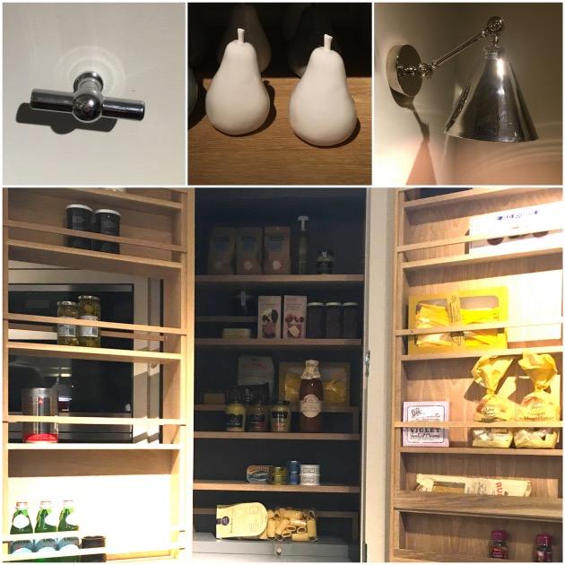 cuisine garde manger placard rangement optimisé