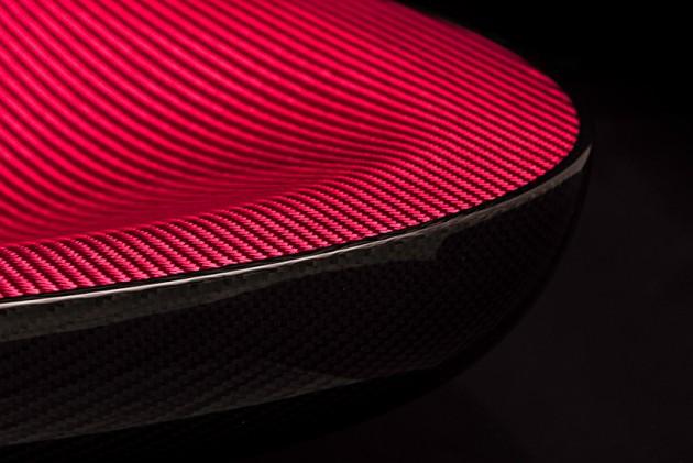 hypetex halo carbon fiber color chair