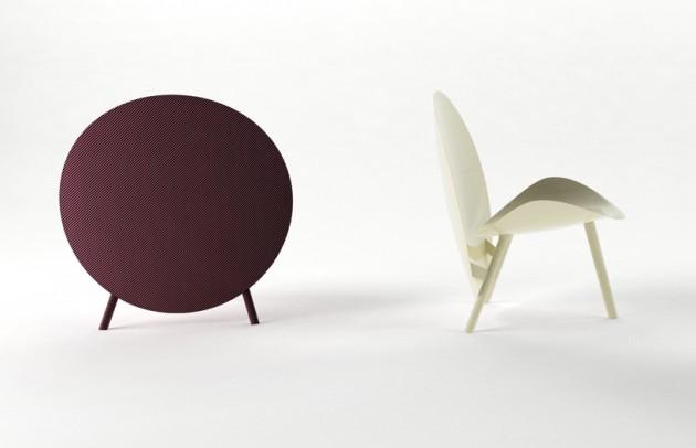 fauteuil chaise halo par hypetex michael sodeau