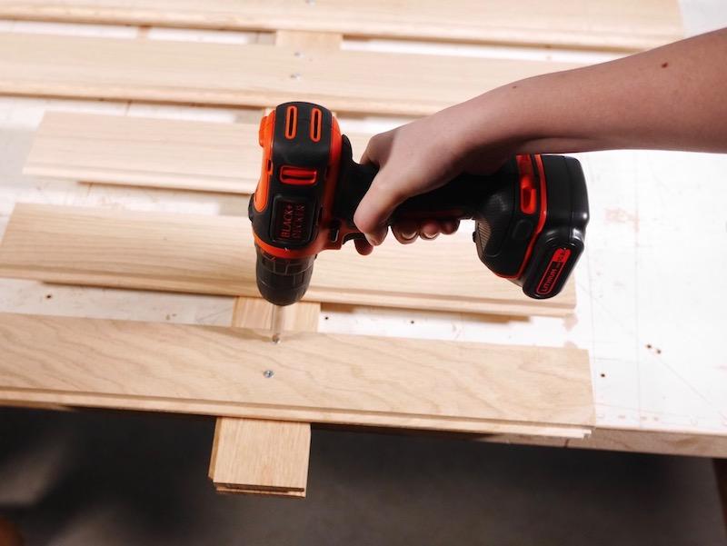 diy sapin de no l en bois blog d coration d 39 int rieur diy clematc. Black Bedroom Furniture Sets. Home Design Ideas