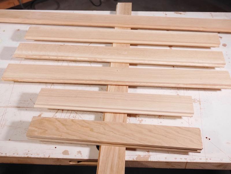 DIY sapin de noel en bois parquet upcycling