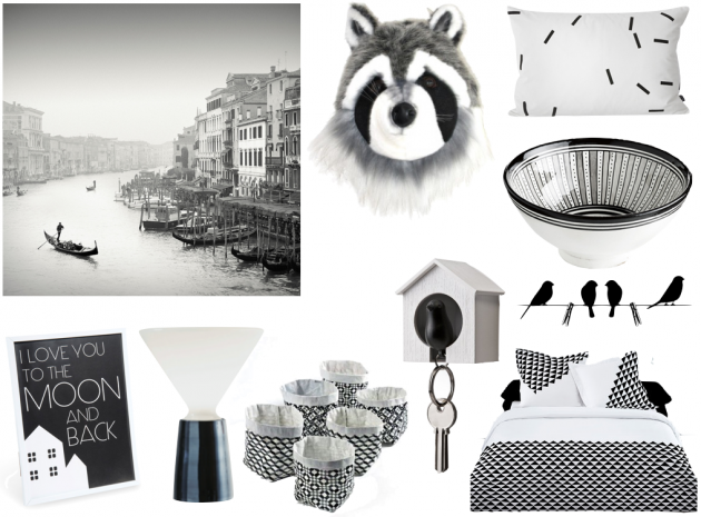 Idees cadeaux de Noel selection noire et blanche cadeau