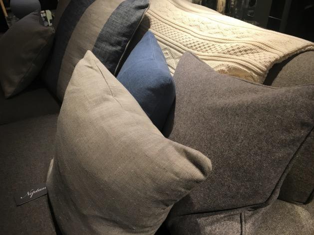 boutique deo a paris coussin lin et laine