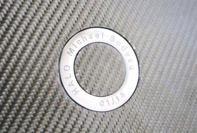 chaise Halo par Hypetex fibre de carbone