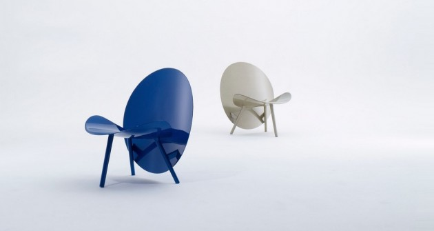 fauteuil chaise Halo par Hypetex fibre de carbone
