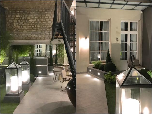 h tel la lanterne hotel design paris par les h ritiers. Black Bedroom Furniture Sets. Home Design Ideas