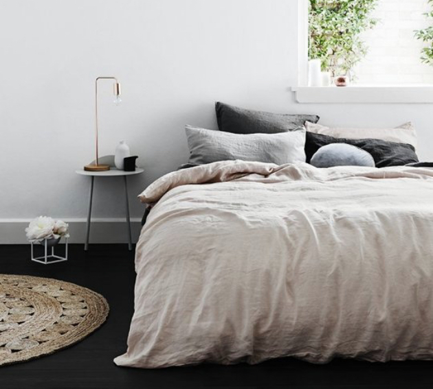 les avantages des draps en lin blog d co clem around. Black Bedroom Furniture Sets. Home Design Ideas
