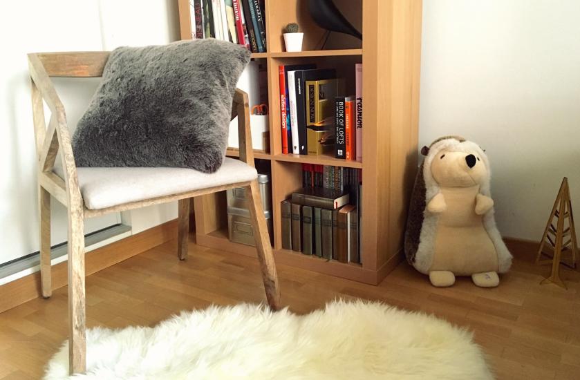 mon nouveau coin lecture studio deco paris