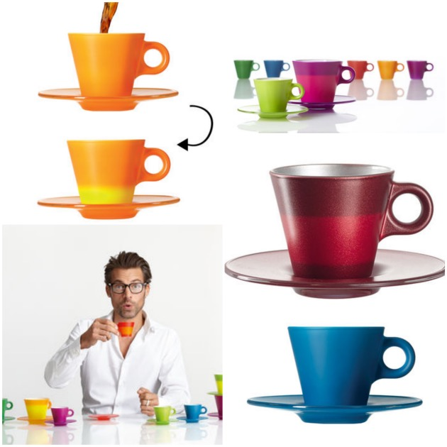 tasse espresso magic Leonardo change de couleur