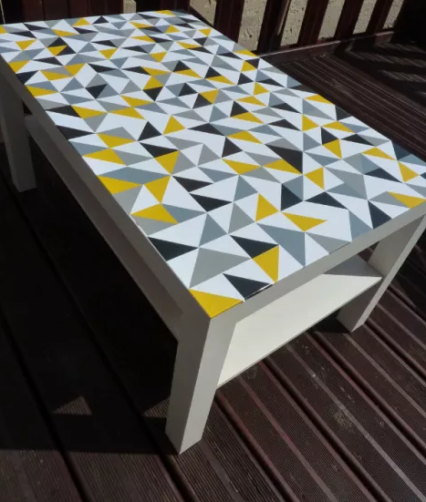 Customiser une table basse ikea blog d co clem around - Relooker une table de salon ...