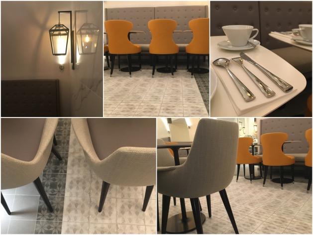 salle petit dejeuner hotel design paris les heritiers