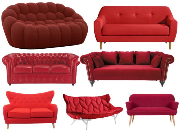 fauteuil orange design pour le salon - blog déco - clem around the corner